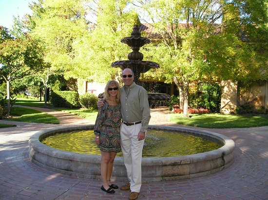 Vintners Inn :                   Taken in front of the beautiful courtyard fountain