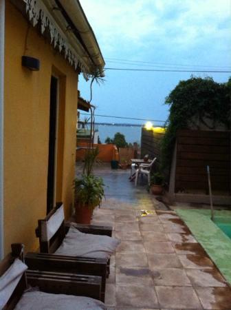 Vuela el Pez: terraza