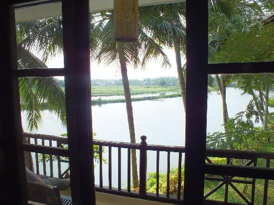 Hoi An Riverside Resort & Spa: VIEW FROM BALCONY..!