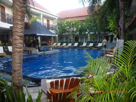The Niche Bali: Swim up bar and deep pool