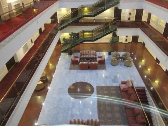 Borodino Hotel: view from the vator