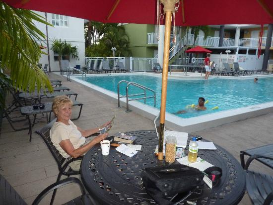 Best Western Hibiscus Motel: Pool view