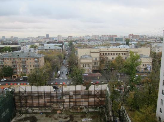 Borodino Hotel: view