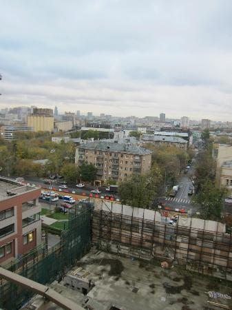 Borodino Hotel: Window view