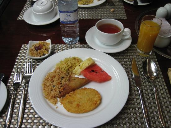 Hilton Colombo Residence: Breakfast