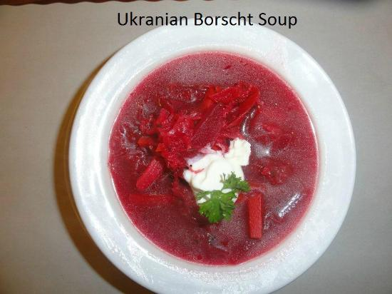 Savoury and Sweet Restaurant: Ukranian Borscht Soup