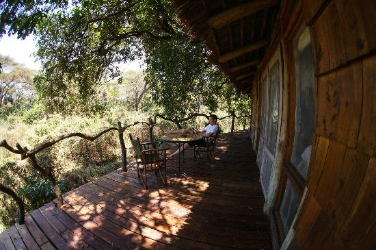 andBeyond Lake Manyara Tree Lodge: View from andBeyond Lake Manyara room