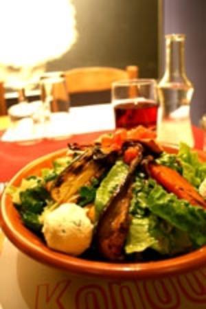 Krissa Gi: Σαλάτα