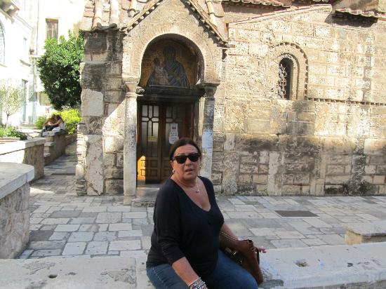 Beautiful church only 50 metres  from Plaka Hotel