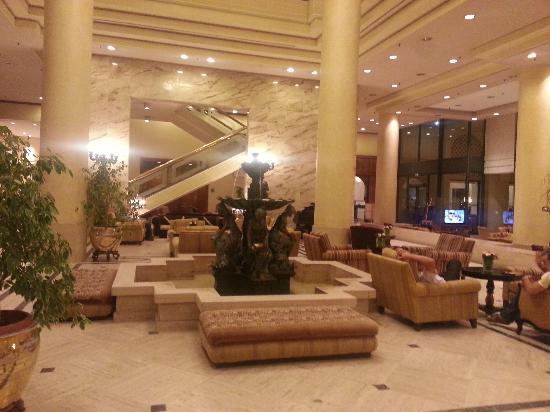 Hilton Alger : le lobby