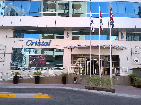 Ramada Downtown Abu Dhabi: Hotel Entrance