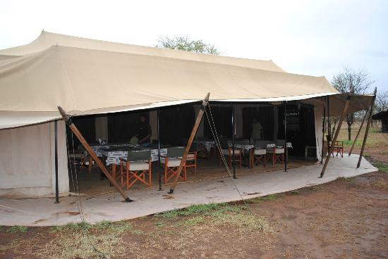 Ronjo Tented Camp: restaurant