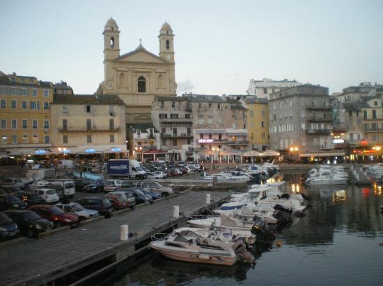 Hotel Posta Vecchia: le vieux port de Bastia
