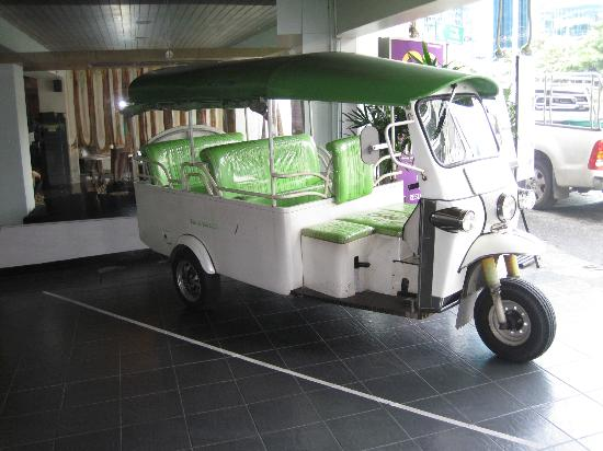 Chaydon Bangkok: Tuk-Tuk for free transport to local sites