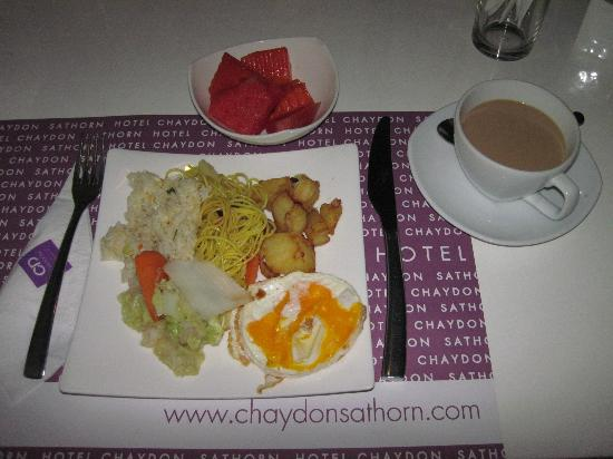 Chaydon Bangkok: Breakfast