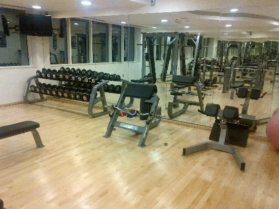 Cristal Hotel Abu Dhabi: Gym