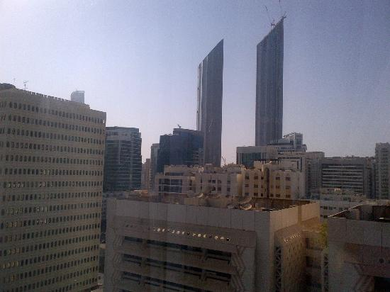 Cristal Hotel Abu Dhabi: View from room