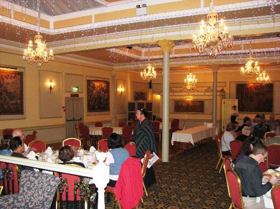 Granville Hotel dining room