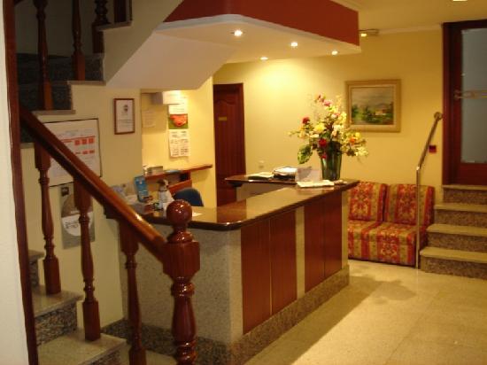 Hotel Capital de Galicia: Recepción