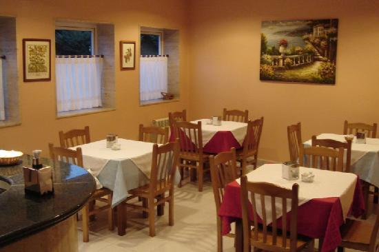 Hotel Capital de Galicia: Cafetería