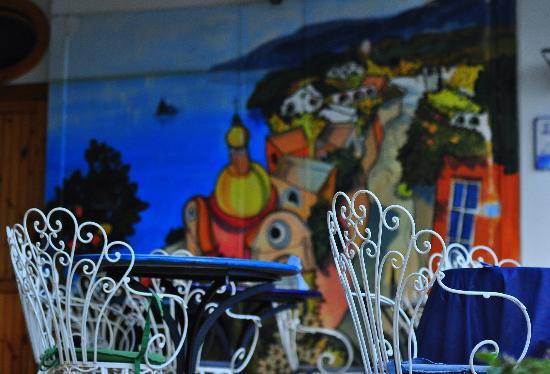 La Maliosa d'Arienzo: dining area