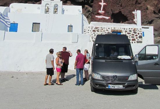 Nst Santorini Tours: Our vehicle