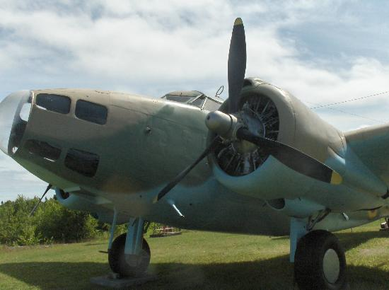 North Atlantic Aviation Museum: WWII bomber