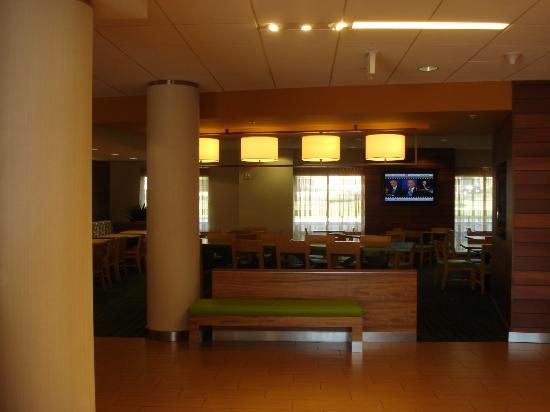Fairfield Inn & Suites Baltimore BWI Airport: dining area