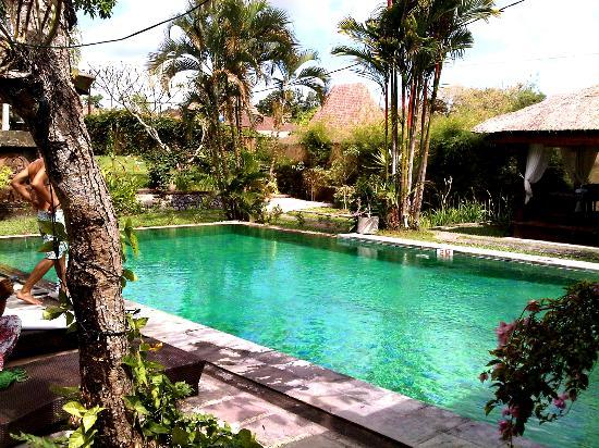 Aqua Villa: kolam renang yang luas dan bersih