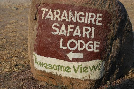 Tarangire Safari Lodge: Kind of speaks for itself...