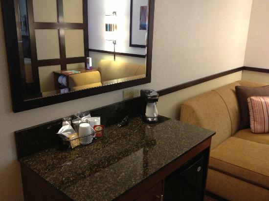 Hyatt Place Milwaukee Airport: view from counter