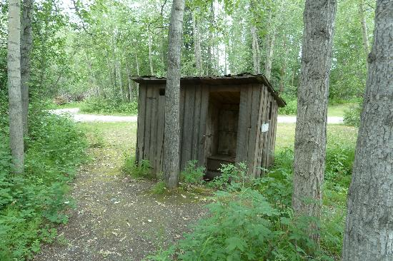 Big Delta State Historical Park: Outhouse