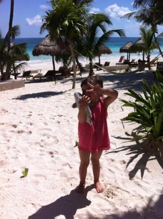 Rosa del Viento: Valerita en Tulum