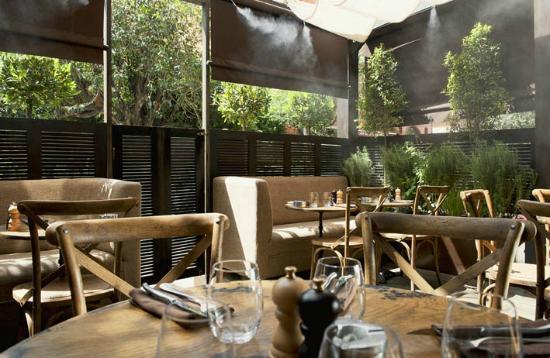 Restaurant Le LOFT : The Terrace