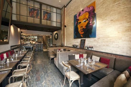 Restaurant Le LOFT: Inside