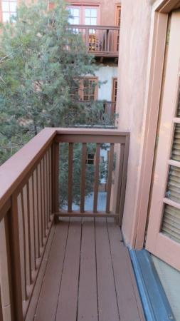 Hotel Santa Fe, The Hacienda and Spa: Balcony