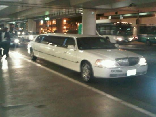 Howard Johnson Anaheim Hotel and Water Playground: This is what picked us up (family of 5) at LAX and drove us to Howard Johnson in Anaheim.