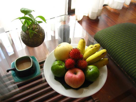 بوري أنكور ريزورت آند سبا: Welcome fruit 