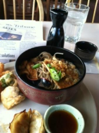 Zen House: halfway through fantastic lunch