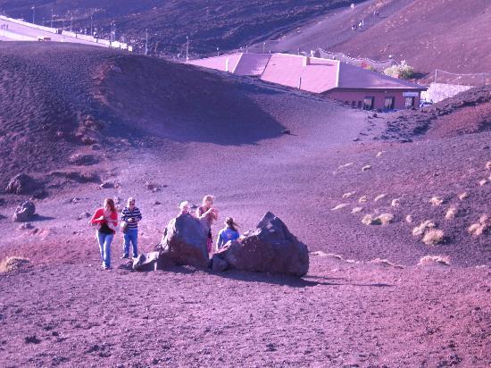 埃特納火山照片