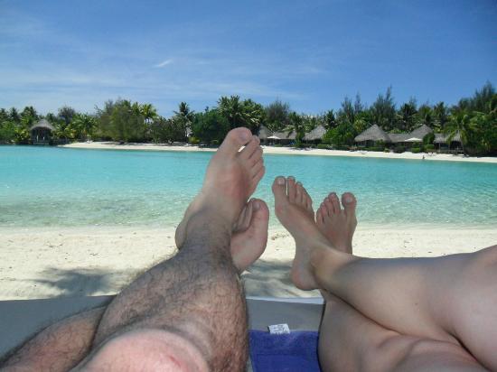 Le Meridien Bora Bora: Internal Lagoon View