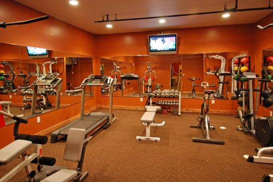 Treasure Mountain Inn Hotel and Conference Center: Fitness Room