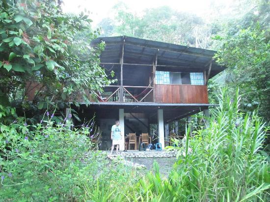 Bosque del Rio Tigre: Lodge from river
