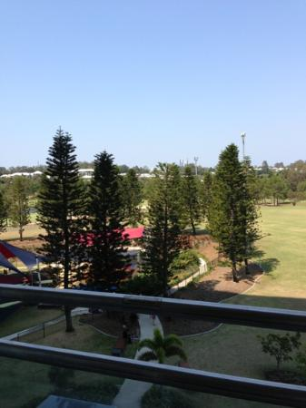 RACV Royal Pines Resort: view from 4th floor