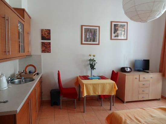 Aparthotel City 5: Kitchenette