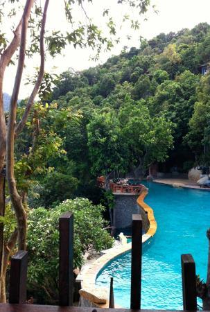 Panviman Resort - Koh Pha Ngan: Pool area