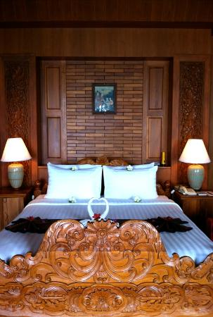 Panviman Resort - Koh Pha Ngan: Bed