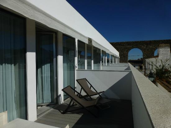 M'Ar De Ar Aqueduto: la terrasse de la chambre
