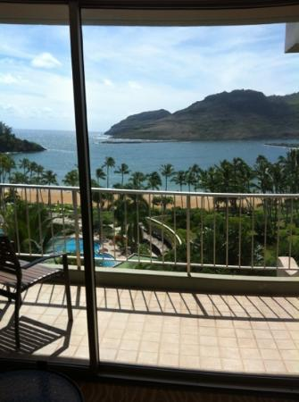 Marriott's Kaua'i Beach Club: View from our room. Really great.