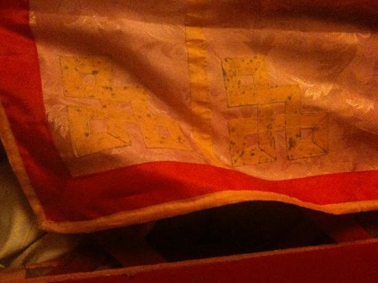 L'Olivier de Marjorie : Yourte tissu d intérieur